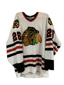 Chicago Blackhawks 75th Anniversary Jersey Size 52 Steve Sullivan