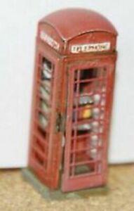 Langley F31 Telephone box. Series 6 Circ. 1936 Unpainted/New Kit OO Scale