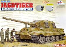 Dragon 1/35 Sd.Kfz.186 Jagdtiger Porsche Production Type (2 in 1) with Zimmerit