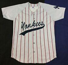 Vintage Yankees Baseball Russell Jersey SizeM