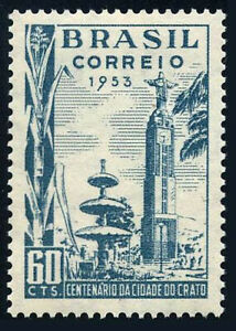 Brazil 760, MNH. City of Crato, centenary. Clock Tower, 1953