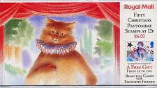 Gb 1985 Christmas Pantomime Folder Pack Sg.No.1303 x 50