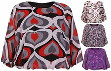 Chiffon Plus Size Fitted Tops & Shirts for Women