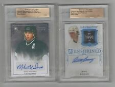 2014/15 Leaf ITG Ultimate Artistic Moments Auto Silver Mike Modano /25 REDUCED!