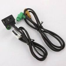 Switch Plug USB AUX Cable For VW Volkswagen Touran Tiguan RCD510 RCD300 Nice ite