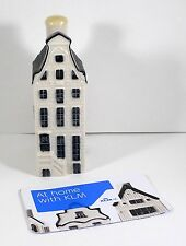 NEW SEALED Blue Delft's Miniature House Decanter #38 Made for KLM, BOLS