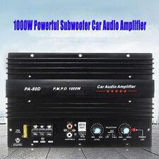 12V 1000 Watt Mono Car Audio Power Amplifier Powerful Bass Subwoofers Amp PA-80D