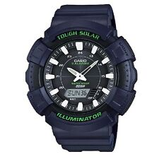 Casio AD-S800WH-2AV Blue Solar Digital-Analog Sports Watch Retail Box Included