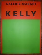 Kelly Ellsworth affiche en lithographie art abstrait abstraction minimalisme