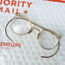 Vintage Ful Vue 12 KGF Gold Filled Frame bi-focal Glasses Nice!