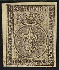 PARMA 1852 - 5 Cent. n. 1  USATO LUSSO € 250