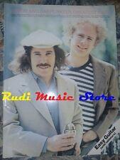 SPARTITO SIMON AND GARFUNKEL's greatest hits EASY GUITAR TABLATURE cd mc dvd lp