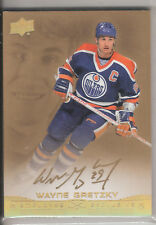 2015 UPPER DECK EMPLOYEE EXCLUSIVE GOLD AUTOGRAPH WAYNE GRETZKY - VERY RARE!