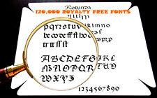 120,000 caratteri su DVD Card Making web design desktop publishing presentazioni 033