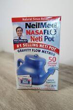 NeilMed NasaFlo Neti Pot #1 Selling Kit 50 PACKETS