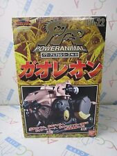 Power Ranger Wild Force Gao Ranger PA-22 Gao Lion Black Megazord Bandai USED