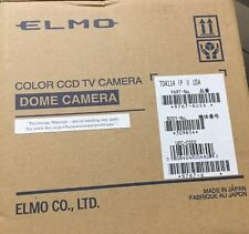 NEW ELMO TD4114 IP II Addressable Dome Network Security Color Camera Audio 9767