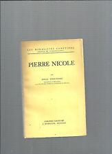 Pierre Nicole par Emile Thouverez Les Moralistes Chrétien Librairie Lecoffre 35@