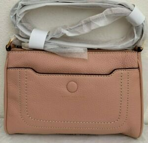 NWT!Marc Jacobs Empire City Leather Crossbody Bag $275 Ballet Pink Original Pack