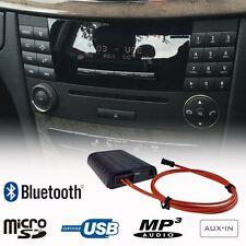 Bluetooth A2DP Handsfree USB SD AUX Adapter Car Kit for Mercedes E Class W211