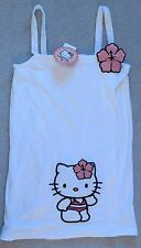 "Hello Kitty Fleece Bath Robe Towel Shower Wrap  ""M"" Adjustable"