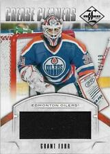 2012-13 PANINI LIMITED CREASE CLEANERS MATERIALS #CC-GF GRANT FUHR 42/99