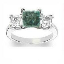 Anillos de joyería con diamantes azul diamante