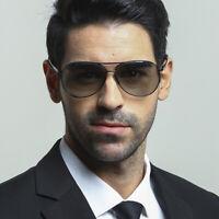 Photochromic Polarized Sunglasses Men Transition Lens Eyewear Aviation Glasses