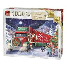 1000 Piece Father Christmas Jigsaw Puzzle -  Santa Express Lorry Truck 05618