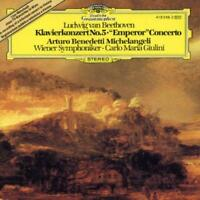 BEETHOVEN: PIANO CONCERTO NO 5 / MICHELANGELI, GIULINI NEW CD