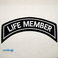 Large Life Member Silver Patch ~ Harley Davidson Owners Group HOG