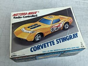 Vintage Model Motora Wave Radio Controlled Corvette Stingray 1:26 WACO