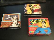 Old Time Radio & TV on CD: SUPERMAN/GUNSMOKE/ALDRIDGE FAMILY/MISS BROOKS/WW2++