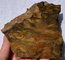 SUPER PREMIUM Binghamite / Silkstone slab. Velvet stone...mindblowing!