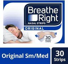 Breathe Right Original Tiras Nasales para el Alivio de la Congestión - 30pz