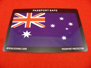 RFID PASSPORT BLOCKING CARD - FOR PASSPORT SCAN PROTECTION stop card scanning