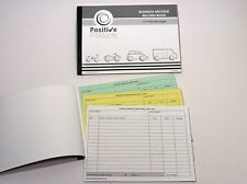4 x Mileage Record Book HMRC Compliant 13 Pages Triplicate Mileage Pad Log