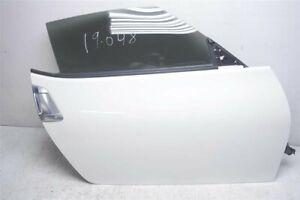 2009-2019 Nissan 370Z Coupé OEM WHITE QAB PASSENGER SIDE DOOR ASSY HMA0M-1ETMA