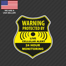 Home CCTV Surveillance Security Camera Video Sticker Warning Decal Signs