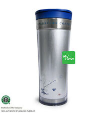 star104 12oz starbucks Blue Silver Rabbit Chinese New Year Tumbler NEW