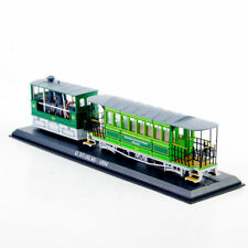 Diecast Car Model Toy Gift Collection 1/87 Scale Atlas Tram Model 1984 Truck Bus