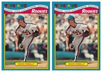 (2) 1988 Topps Toys R' Us Rookies Baseball 8 David Cone Lot New York Mets