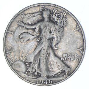 1946-D Walking Liberty 90% Silver US Half Dollar *935