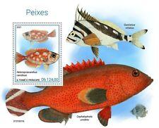 Sao Tome & Principe 2021 MNH Fish Stamps Fishes Hawaiian Morwong 1v S/S