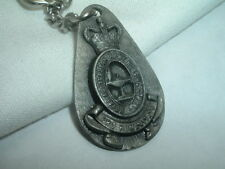 VINTAGE ROYAL AUSTRALIAN ARMY PEWTER KEY CHAIN IN GIFT BOX