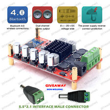 TDA7492P PREAMP5532 Wireless Bluetooth CSR4.0 Hifi Audio Digital Amplifier Board