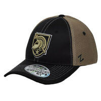 NCAA Zephyr Army Black Knights Flex Fit Medium Hat Cap Stretch Curved Bill