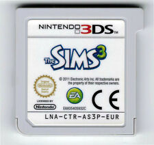 Die Sims 3 Nintendo 3DS 2DS Spiel Cartridge Cart Only