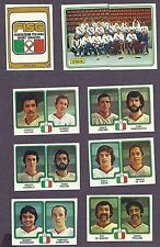 1979 Panini World Hockey Team Italy, Set of Nine.