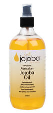 3 X Just Jojoba 100 Pure Australian Jojoba Oil 500ml - Plastic Bottle